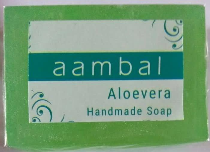 Aambal soaps - Aloevera - Product Image