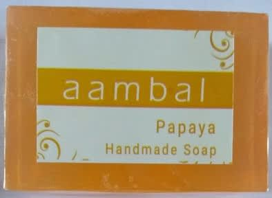 Aambal Soaps - Papaya - Product Image